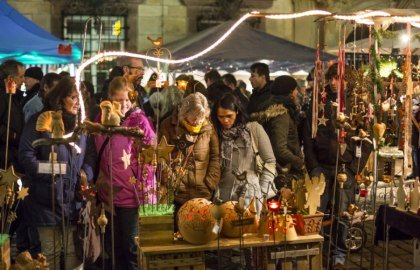 Handcrafts on the Advent Market