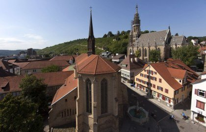 One of Germany's oldest completely perserved churches belonging to a mendicant order.