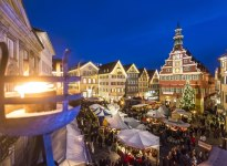 View on the Medieval Market an the old town Hall of Esslingen